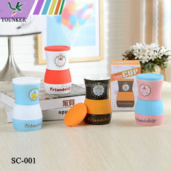 ceramic cup with silicone cover For Promotion Gift