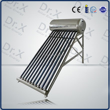 high efficiency compact pre-heating solar water heater with copper coil in tank for sale