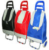 Folding trolley shopping bags with detachable wheels,vintage shopping trolley bag
