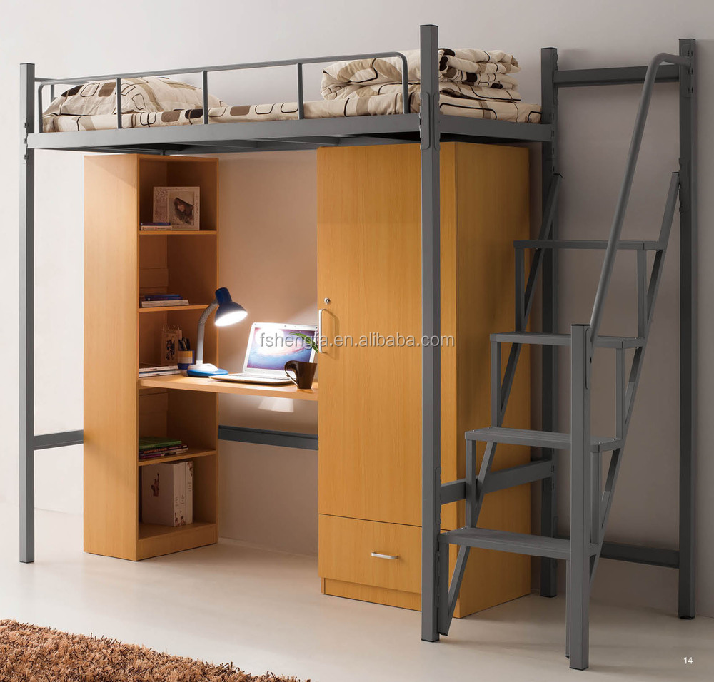 Bunk Bed With Desk Buy Bunk Bed With Desk Metal Bunk