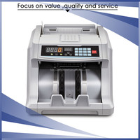 High efficiency wholesale LED display bank note counting machine