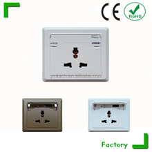 2015 DESIGN in china universal international travel power plug adapter