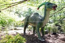Customized parasaurolophus fiberglass animal figures