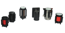 High quality cassette,pole pull head for retractable queuing poles