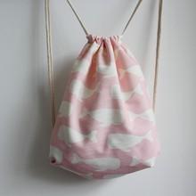 full printing canvas bag designer shopping bags custom made