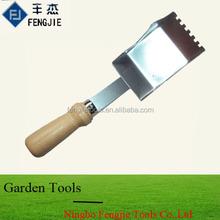 Mini Garden Scoop Trowel With Wooden Handle