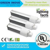 5 years warranty cULs E365384 110v 7w PL LED lamp
