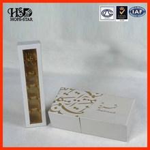 Caja plástica decorativa para chocolate con precio competitivo