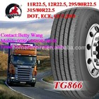 Big desconto barato caminhão pneus 12r22.5 transking marca