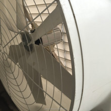 exhaust fan with glass steel material with 6 stainless steel blades
