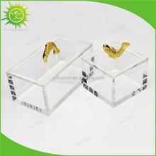 Manufacturer Supplies Elegant Acrylic Jewelry Organizer Box