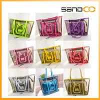 Fashion Summer Transparent PVC Beach Bag