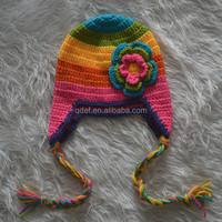 free crochet lovey patterns hats for kids for winter girls crochet hats wholesale