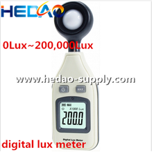 Pocket Size Digital Light Meter Handheld Cheap Digital Lux meter