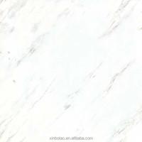 Super White Polished Glazed Porcelain Decoration Floor Tile