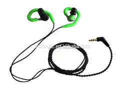 New and fashion sports earphones in bulk driven stereo sound earphone for running