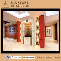 Golden Spider Marble Wall Decor Greek Orange Marble Floor Block Tile