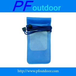 PVC popular transparent cell phone mobile dry bags waterproof bag