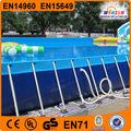 Moldura retangular natação piscina, grande piscina quadro, piscina acima do solo