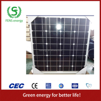 High quality 90w TUV/CE/IEC/MCS Approved Mono Crystalline Solar Panel,Home Solar Panel System Use,Solar Power System Use
