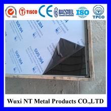 TISCO/BAOSTEEL Brand 304 stainless steel sheet No.4 satin finish