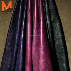 classic style Italy leather sheep skin--vintage style for JACKET