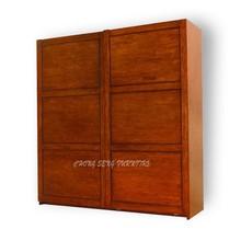 WB0905- Quality royal solid maple wood wardrobe doll clothes dresser