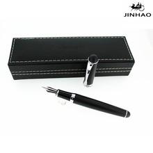jinhao 750 metal fountain pen matte black color business gift pen promotion pen