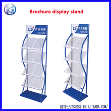 real estate promotion sale literature display rack for magazine HS-ZL12