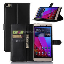 2015 Original Luxury PU Leather case lychee stand case for huawei ascend p8 max china suppliers