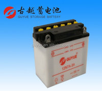 Top Power 12V Rechargeable Lead Acid Battery for Street Bike 12N7A-3A