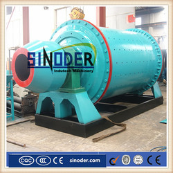 Supply lime carbonate ball mill in grinding powder after crushing process plant -- Sinoder Brand