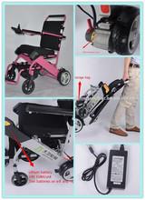 Foldable elderly lying-down wheel chair