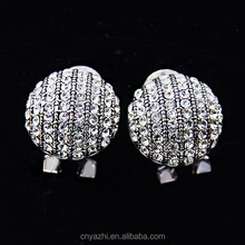 wholesale bulk cheaper bali jewelry earring with round shaped clip on earrings