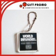 Promotional Small Acrylic Photo Frame Key Chain
