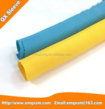 Textile Woven Wrappable Braided Split Sleeving for Cable Management