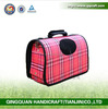 BSCI QQ Factory Portable Pet Carriers Bags Factory Price Dogs Breathable Bags Cute Pink Pet Carrier