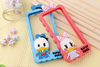 Cute Silicone Couples Duck Cellphone Case For iPhone 4 4S 5 5S 6