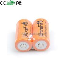 Ultrafire 18350 1200mAh 3.7V rechargeable battery High Drain battery lithium/li-ion battery