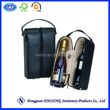 Wine glasses carrying case/cheap wooden wine boxes for sale/Wine carrying case