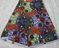 H 1022(22) Real wax Super wax hollandais ankara fabric african fabrics for sale cheao price china manufacturers