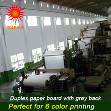 preferentail price grey chip board,grey chip board mill