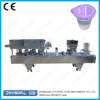 Economical automatic ice cream cup sealing filling machine two heat sealing