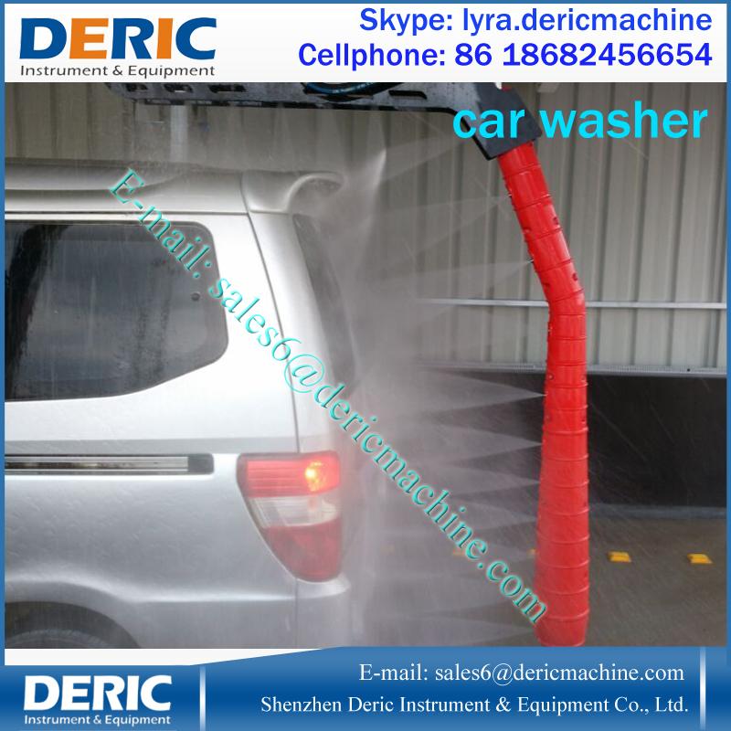 Fabricación de la máquina de lavado con sistema de secado, auto Car lavadora