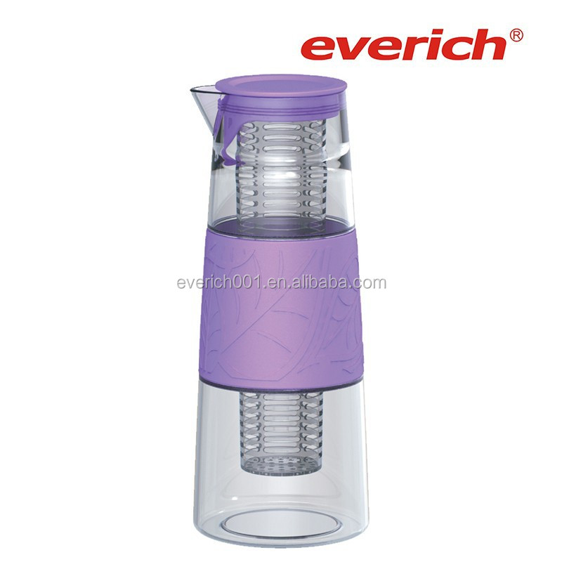 1000ml glass water filter pitcher with a big as infuser buy water filter pitcher glass water - Glass filtered water pitcher ...