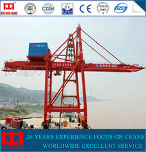 Factory direct supply 50ton quayside container handling ship to shore crane