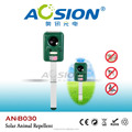 Aspect attrayant solaire. ultrasons, chat chien répulsif oiseaux/animaux nuisibles repellers