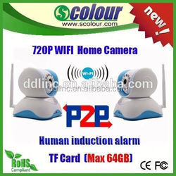 HD Smart home P2P WIFI IP Camera with alarm, home network camera