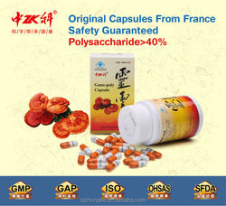 Zhongke Brand Private Label China Supplier Health Food Gano-Poly foods reduce cholesterol Capsule
