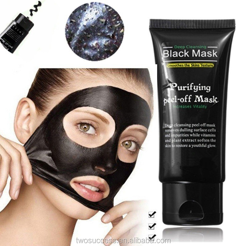 Hot Sale 100% natural PILATEN pores repairing black mud facial mask .jpg